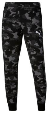 Puma Men's Camo Fleece Pants