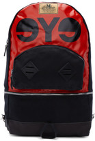 Junya Watanabe Red and Black Seil Marschall Edition Pvc Backpack