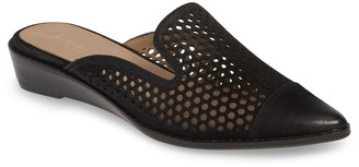 Cara Leather Perforated Mule