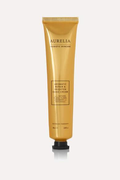 Aurelia Probiotic Skincare Aromatic Repair & Brighten Hand Cream, 75ml - Clear