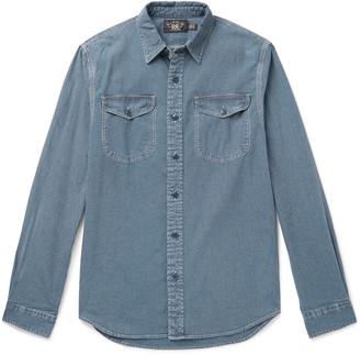 Ralph Lauren RRL Lee Striped Cotton-Chambray Shirt