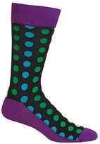 Hot Sox Mens Ombre Dots Socks