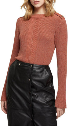 Oxford Claudine Cable Knit