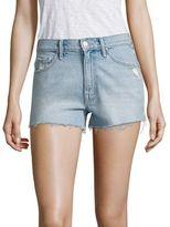 Mother Miranda Kerr x Easy Does It High-Rise Cut-Off Denim Shorts