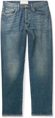 Jeanerica Organic Stretch-Denim Jeans - Men - Blue