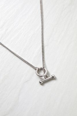 ICON BRAND Icon T-Catch Necklace - Silver ALL at Urban Outfitters