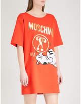 Moschino Pudgy print stretch-jersey dress