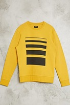 Forever 21 FOREVER 21+ Linear Graphic Sweatshirt