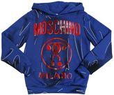 Moschino Shadow Printed Cotton Sweatshirt