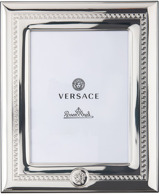 """Versace Silver Plate Photo Frame, 6"""" x 7.75"""""""