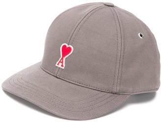 Ami Logo Plaque Cap