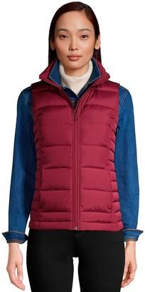 Lands' End Petite Winter Down Puffer Vest