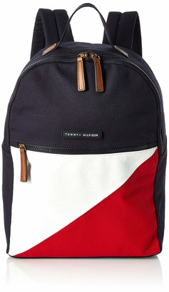 Tommy Hilfiger Women's Th Flag-Backpack-Canvas