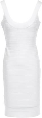 Herve Leger Open-back Bandage Dress
