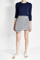 Carven Mini Wrap Skirt