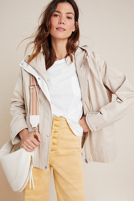 BEIGE Cormac Knit-Back Utility Jacket By Skies Are Blue in Size XS