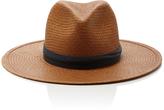 Janessa Leone Panton Short Brimmed Panama Hat