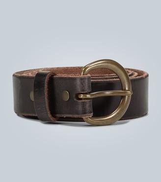 Ralph Lauren RRL Distressed leather belt