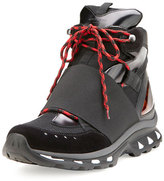 Givenchy Hiking Boot Trainer Sneaker, Black