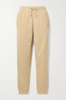 adidas French Cotton-blend Terry Track Pants - Beige