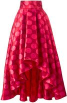 Ultràchic - polka dots full skirt - women - Silk/Polyester - 40