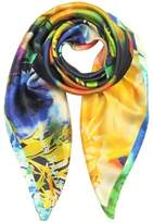 Laura Biagiotti Women's Multicolor Silk Foulard.