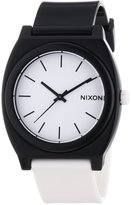 Nixon Men's A119-005 Plastic Analog White Dial Watch