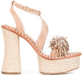 Paloma Barceló 'Nico' sandals - women - Leather/Suede - 35