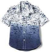 Gap Shark poplin short sleeve shirt