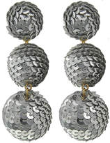 Fashion Pickle Sequins Ball Earrings