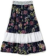 I.N. Girl Big Girls 7-16 Floral-Print Maxi Skirt
