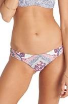 Billabong Women's Luv Lost Hawaii Lo Reversible Bikini Bottoms