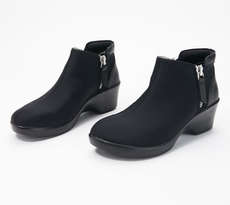 Alegria Leather Ankle Boots - Sloan