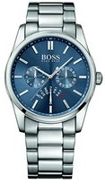 HUGO BOSS Aeroliner Blue Dial Stainless Steel Chrono Quartz Male Watch 1513183
