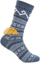 AndeanSun Fair Isle Dress SMART ALPACA SOCKS Premium Quality - Trouser Weight - All Weather Comfort by Alpaca World's BEST NATURAL THERMAL MANGEMENT - Moisture Wicking - ALOE Infused for Skin Care