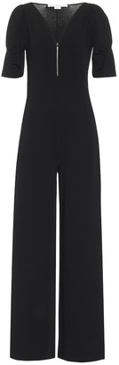Stella McCartney Knit wide-leg jumpsuit