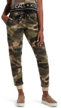 KENDALL + KYLIE Oversized Drawstring Lounge Jogger Pants, Online Only