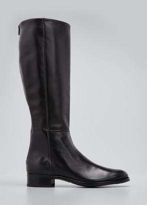 Gravati Tall Leather Zip Riding Boots
