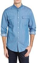 Vineyard Vines Men's Crosby Slim Fit Chambray Sport Shirt