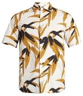 Marni Floral-print Short-sleeved Cotton Shirt