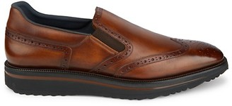 Bally Slip-on Leather Brogues