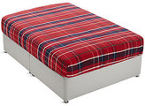 Marks and Spencer Brushed Cotton Tartan Checked Fitted Sheet