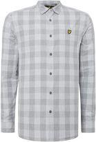 Lyle & Scott Men's Long sleeve block check shirt