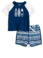 Infant Boy's Tucker + Tate Two-Piece Rashguard Swimsuit