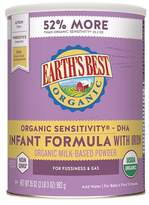 Earth Earth's Best Organic Sensitivity Infant Formula with Iron - 35oz