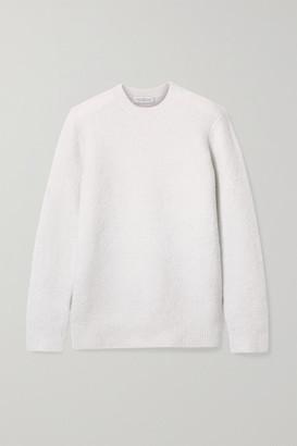 Gabriela Hearst Chester Cashmere And Silk-blend Sweater - Cream