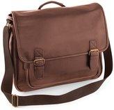 Quadra NuHude Faux Leather Shoulder Strap Messenger Bag