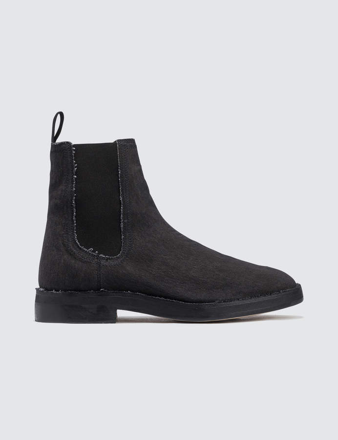 Yeezy Chelsea Boot In Washed Canvas