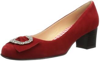 Diavolezza Womens CELINE Pumps red Size: 8.5 UK (38.5 EU )