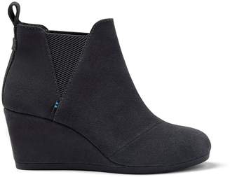 Forged Iron Grey Suede Women's Kelsey Booties